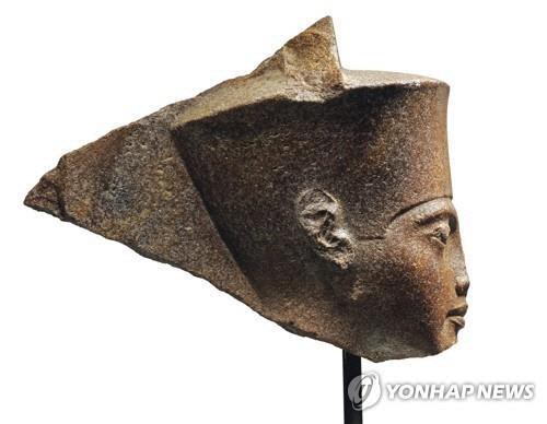 파라오 투탕카멘 조각상 경매 제동 건 이집트